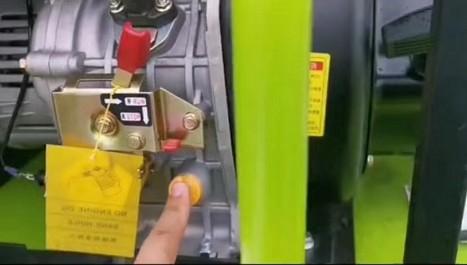 加机油的孔